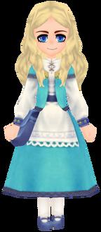 Kukulia Clothes - Aqua (Female)