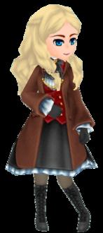 Brown Wizard Coat - Female