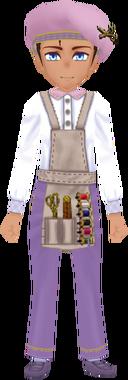Tailor Garb - Lavender (Male)