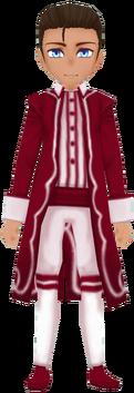 Retro Coat in Wine (Male)