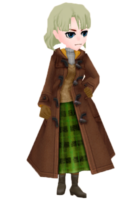 Fishing Coat Brown Woman