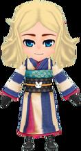 Junior Kimono - Navy (Female)