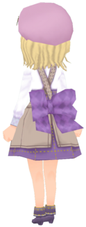 Lilac Checkered Waistband