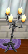 Black Candlestand