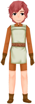 Unranked Olerud Fighter (Male)