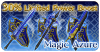 Magic Azure Weapons