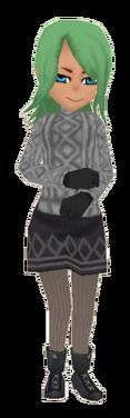 Gray Sweater F