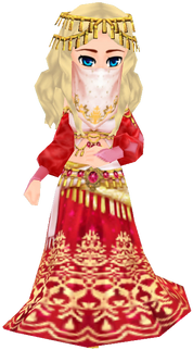 Southern Noble Attire - Red (Female)