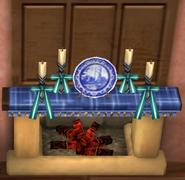 Mantel Plate - Roselle