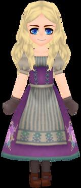 Violet Ancestral Floral Garb (Female)