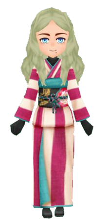 Stylish Kimono-Crimson