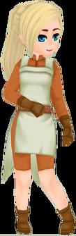 Unranked Olerud Fighter (Female)