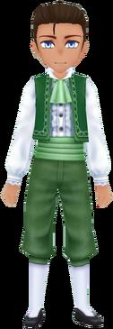 Elegant Dress - Green (Male)