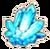 Raw magic mineral