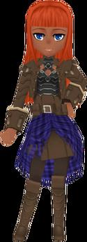 HardenedLeatherCoat Brown f