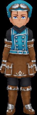 Mountain Corps Wear - Blue (Male)