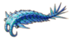 Blue crustacean