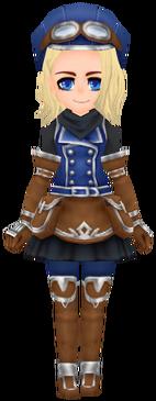 Mountain Corps Wear- Indigo (Female)