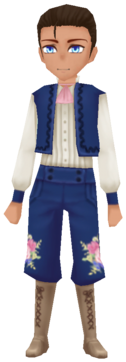 Flower Knight- Navy (Male)