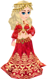 Southern Imperial Garb - Red (Female)