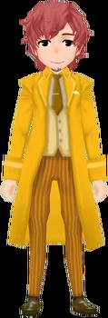 Lugdell Clothes - Orange (Male)