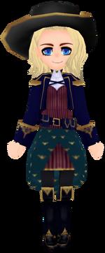 Indigo Scholar Uniform (Female)