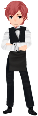 Bartender Outfit (Male)