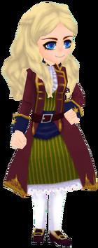 Red Pirate Coat (Female)