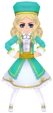 Aqua General Imperial Garb (Female)