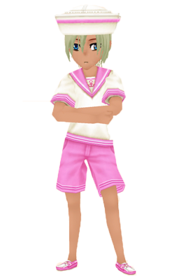 Summer Sailor Uniform Pink Man