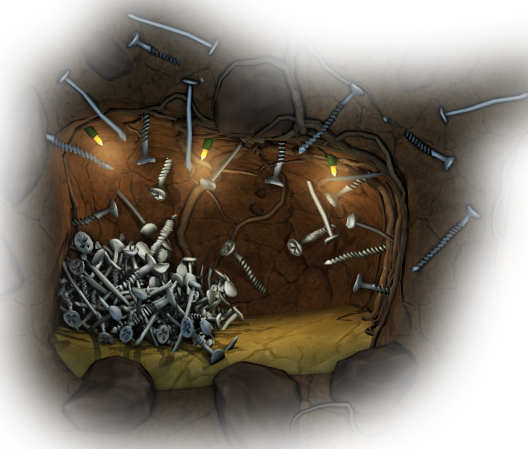 Colochamber mine iron