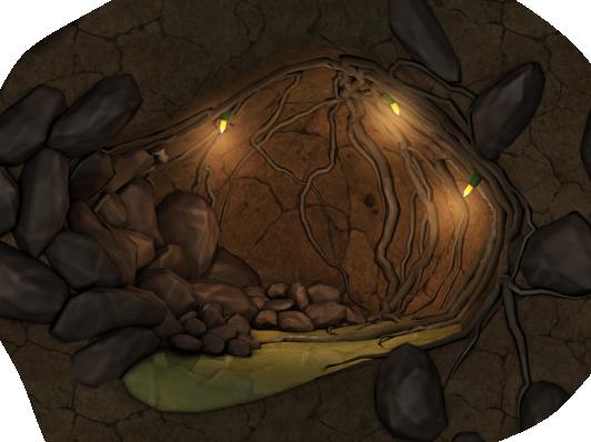 Colochamber mine stone