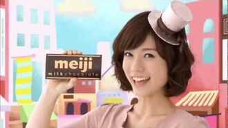 Meiji Japan Black, Milk & Strawberry chocolate