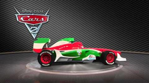 Cars 2 Turntable Francesco Bernoulli