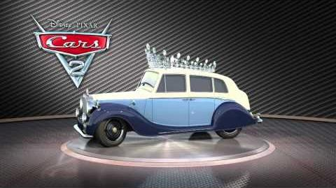 Disney Pixar CARS 2 - The Queen Turntable (Stitch Kingdom)