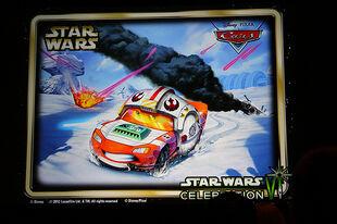 Lightning McQueen Luke Skywalker