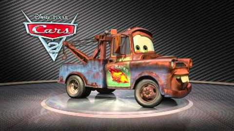 Disney Pixar CARS 2 - Carl Attrezzi alias Cricchetto Turntable