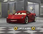 Giovanni character selector