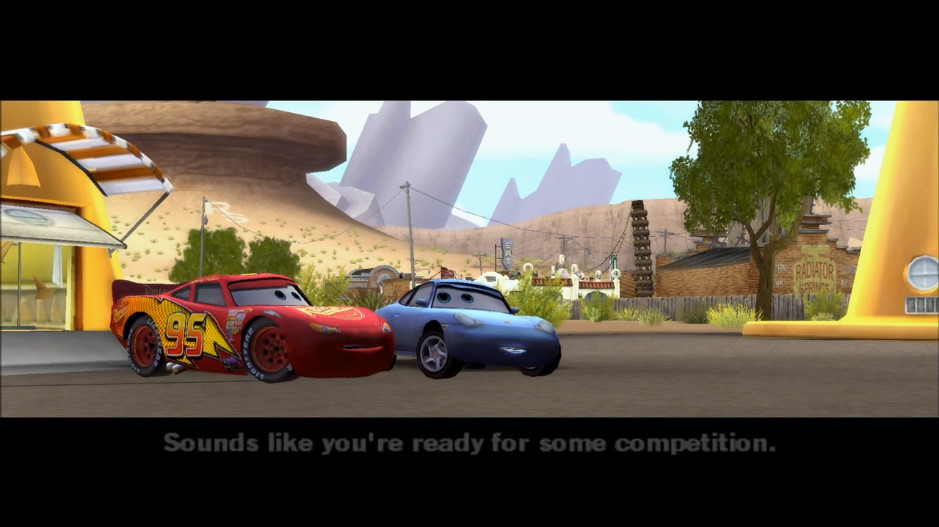 Cars The Video Game World Of Cars Wiki Fandom Powered By Wikia