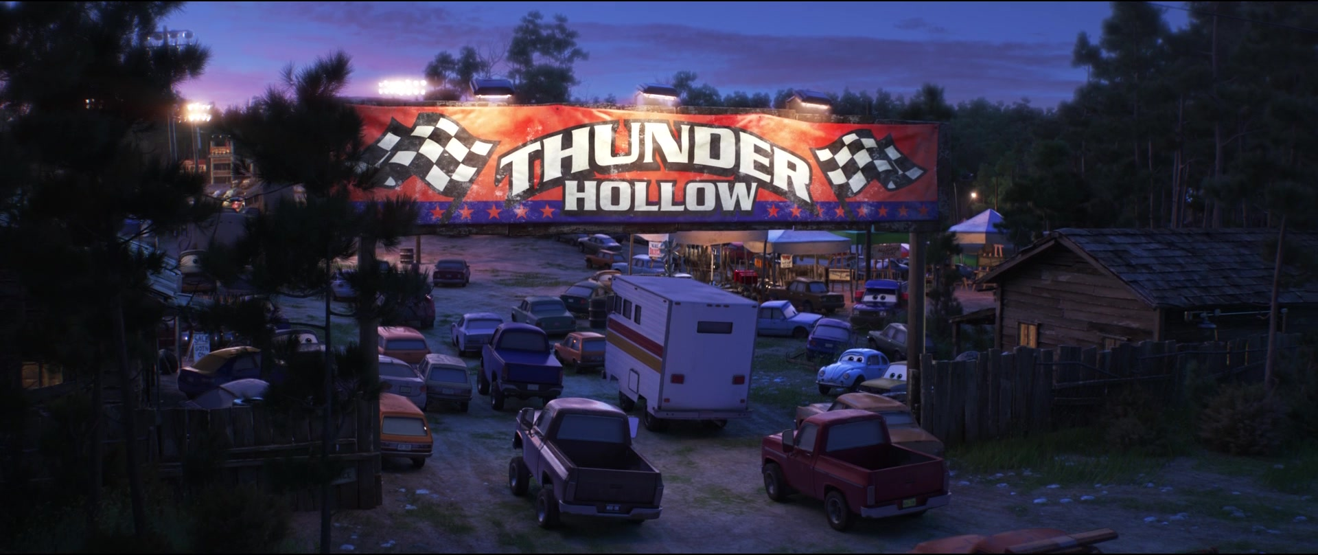 Thunder hollow world of cars wiki fandom powered by wikia - Coloriage cars 3 thunder hollow ...