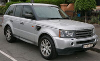 2005 Land Rover Range Rover Sport (L320 MY06) TDV6 wagon (2015-12-07) 01