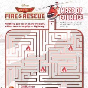 Coloring page Planes 2 Fire and Rescue : Cabbie 2 | 300x300