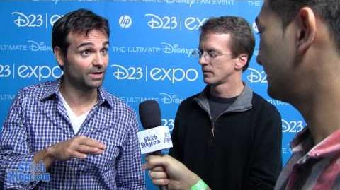 Disney's Planes Fire & Rescue Interview with Director and Producer at the D23 Expo