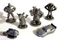 Game pieces monopoly