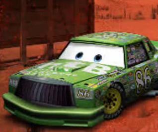 CARS KEVIN RACINGTIRE alias SHIFTY DRUG Mattel Disney Pixar