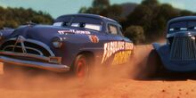 Doc Hudson passes River Scott