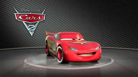 "Cars 2 ""Turntable Lightning McQueen"""