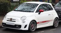 1920px-2009 Abarth 500 1.4 Front