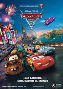 Cars-2 Spain Poster