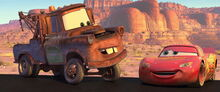 Mater and McQueen reunite